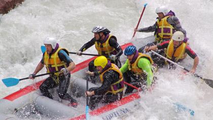 Rafting in val pusteria